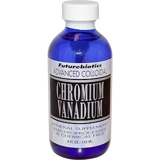 FutureBiotics, Advanced Colloidal, Chromium Vanadium, 4 fl oz (118 ml)