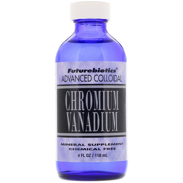 FutureBiotics, Advanced Colloidal, Chromium Vanadium, 4 fl oz (118 ml) (Discontinued Item)