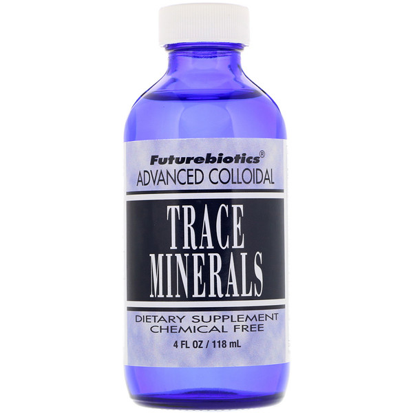 FutureBiotics, Advanced Colloidal, Trace Minerals, 4 fl oz (118 ml) (Discontinued Item)