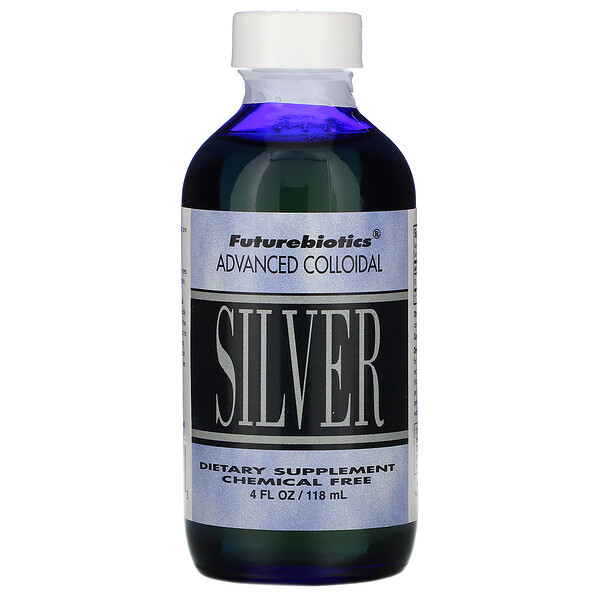 FutureBiotics, Advanced Colloidal, Silver, 4 fl oz (118 ml)