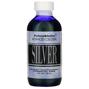 Фьючербайотикс, Advanced Colloidal, Silver, 4 fl oz (118 ml) отзывы
