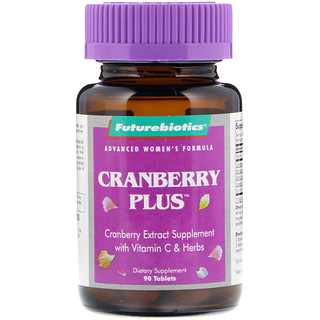 FutureBiotics, Advanced Women's Formula, Cranberry Plus, 90 Tablets