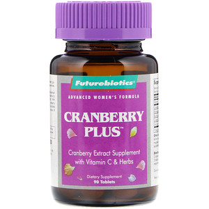Фьючербайотикс, Advanced Women's Formula, Cranberry Plus, 90 Tablets отзывы покупателей