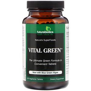 Фьючербайотикс, Vital Green, 375 Vegetarian Tablets отзывы