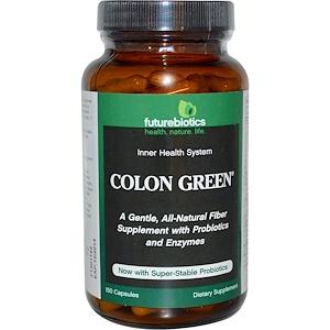 FutureBiotics, Colon Green, 150 капсул