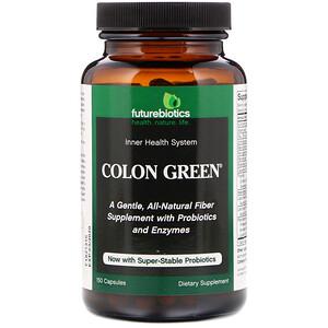 Фьючербайотикс, Colon Green, 150 Capsules отзывы