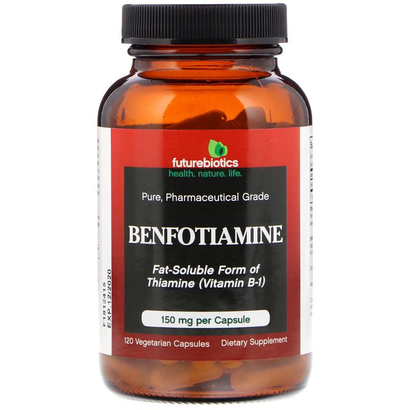 FutureBiotics, Benfotiamine, 150 mg, 120 Vegetarian Capsules