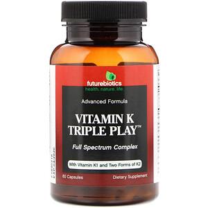 Фьючербайотикс, Vitamin K Triple Play, 60 Capsules отзывы