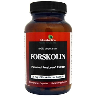 FutureBiotics, Forskolin, 25 mg, 60 Veggie Caps