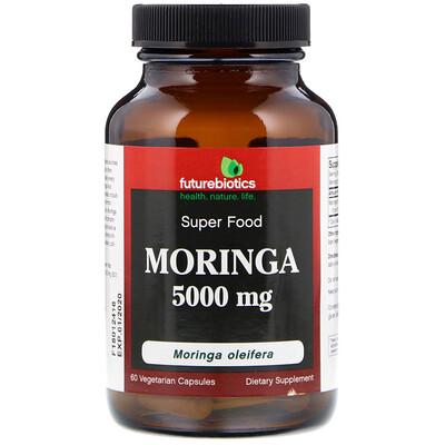 Фото - Moringa, 5,000 mg, 60 Vegetarian Capsules brazilian suma 60 vegetarian capsules