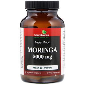 Фьючербайотикс, Moringa, 5,000 mg, 60 Vegetarian Capsules отзывы покупателей