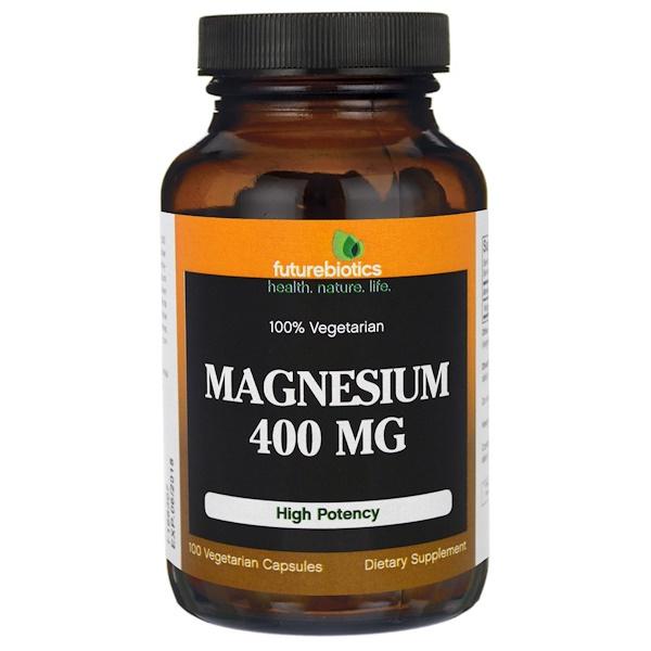 FutureBiotics, Magnesium, 400 mg , 100 Veggie Caps (Discontinued Item)