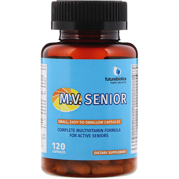 FutureBiotics, M.V. Senior, 120 Capsules
