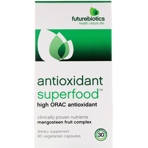 FutureBiotics, Antioxidant Superfood, High ORAC Antioxidant, 90 Vegetarian Capsules
