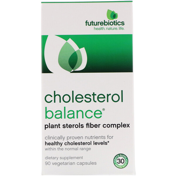 FutureBiotics, Cholesterol Balance, 90 Vegetarian Capsules