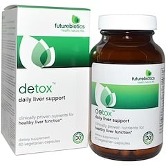 FutureBiotics, Detox, Daily Liver Support , 60 Veggie Caps