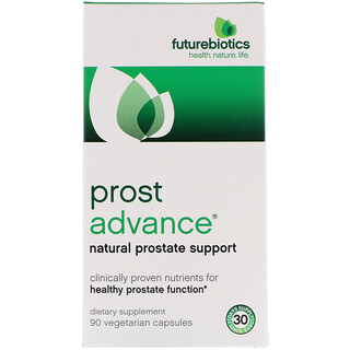 FutureBiotics, ProstAdvance, Natural Prostate Support, 90 Vegetarian Capsules