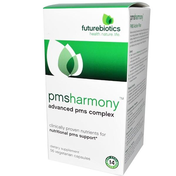 FutureBiotics, PMSharmony, 56 Veggie Caps