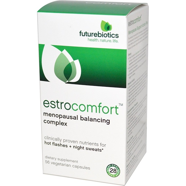 FutureBiotics, EstroComfort, Menopausal Balancing Complex, 56 Veggie Caps