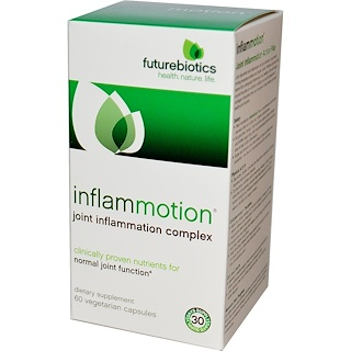 FutureBiotics, InflamMotion, Joint Inflammation Complex, 60 Veggie Caps
