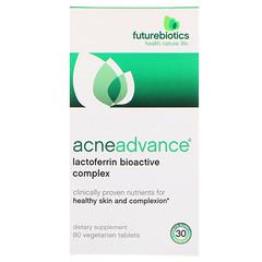 FutureBiotics, AcneAdvance, 90 Vegetarian Tablets