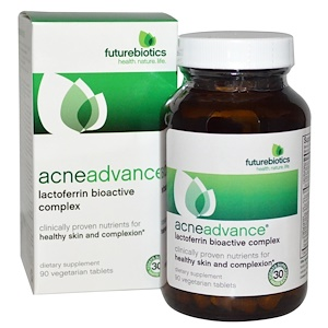 FutureBiotics, АкнеАдванс, 90 таблеток растительного происхождения