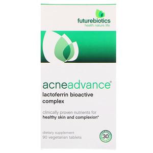 Фьючербайотикс, AcneAdvance, 90 Vegetarian Tablets отзывы покупателей