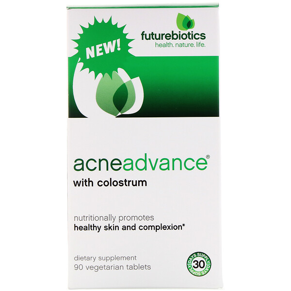 Acne Advance with Colostrum, 90 Vegetarain Tablets