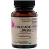 FutureBiotics, Ácido fólico de la cáscara de limón, 800 mcg, 120 comprimidos vegetales orgánicos