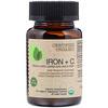 FutureBiotics, Certified Organic Iron + C, 90 Organic Vegetarian Tablets