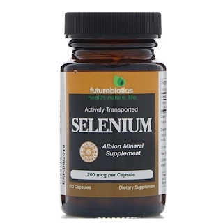FutureBiotics, Selenium, 200 mcg, 100 Capsules