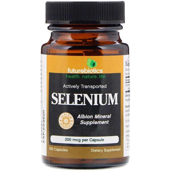 FutureBiotics, Selenium, 200 mcg, 100 Capsules