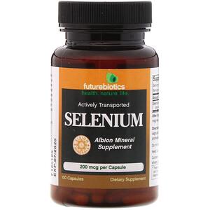 Фьючербайотикс, Selenium, 200 mcg, 100 Capsules отзывы