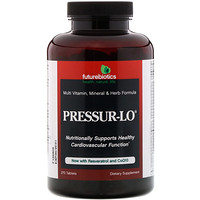 Pressur-Lo, Мультивитаминная, Минеральная и Травяная Формула 270 таблеток - фото