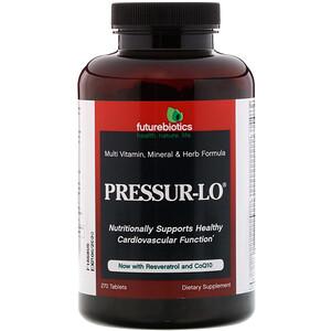 Фьючербайотикс, Pressur-Lo, Multi Vitamin, Mineral & Herb Formula, 270 Tablets отзывы покупателей