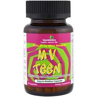 FutureBiotics, M.V. Teen, 90 Capsules