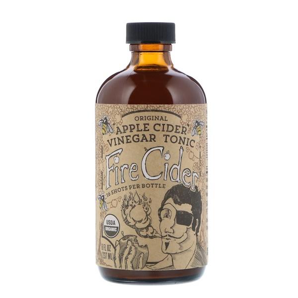 Fire Cider, Apple Cider Vinegar Tonic, Original, 8 fl oz (237 ml)