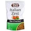 Foods Alive, Flax Crackers, Italian Zest, 4 oz (113 g)