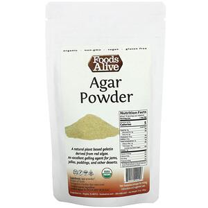 Foods Alive, Agar Powder, 2 oz (56 g)'