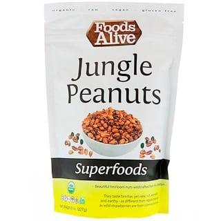 Foods Alive, Суперфуды, Арахис из джунглей, 8 унц. (227 г)