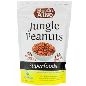 Фудс Алайф, Superfoods, Jungle Peanuts, 8 oz (227 g) отзывы покупателей