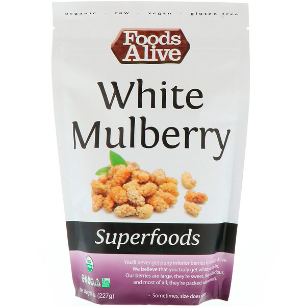 Superfoods, White Mulberry, 8 oz (227 g)