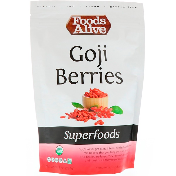 Superfoods, Goji Berries, 8 oz (227 g)