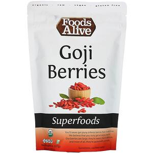 Фудс Алайф, Superfoods, Goji Berries, 8 oz (227 g) отзывы