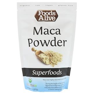 Foods Alive, Superfoods, Maca Powder, 8 oz (227 g)