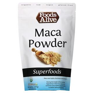 Foods Alive, Superfoods, Organic Maca Powder, 8 oz (227 g)
