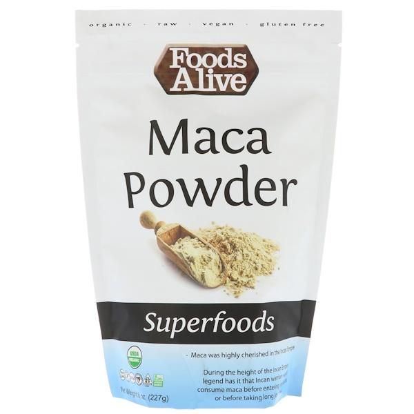 Foods Alive, 超級食品,瑪卡粉,8盎司(227克)