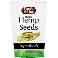 Foods Alive, Superfoods, Hulled Hemp Seeds, 8 oz (227 g)