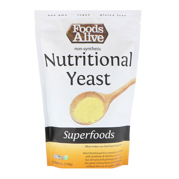 Superfoods, Nutritional Yeast, 6 oz (170 g)