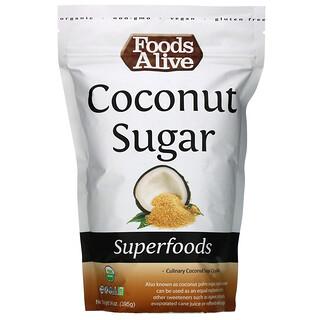 Foods Alive, Superfoods, Organic Coconut Sugar, 14 oz (395 g)